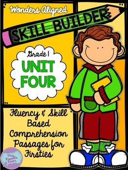 Grade One Comprehension Assessments {UNIT 4}