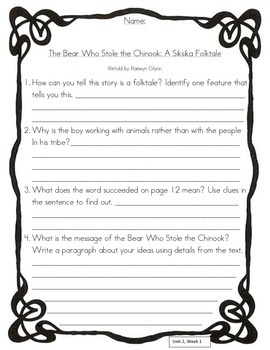 Wonders Beyond Leveled Reader Comprehension Questions Unit