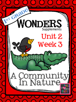 1st Grade Wonders - Unit 2 Week 3 - A Community In Nature