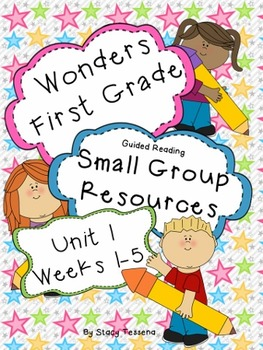 Wonders First Grade: Small Group Resources-Unit 1