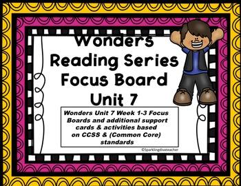 Wonders Focus Board Unit 7
