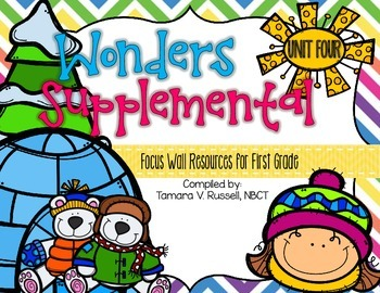 Wonders Focus Wall Resources Grade 1: Unit Four