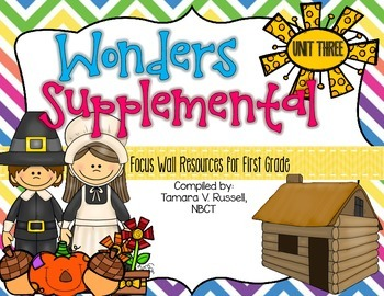 Wonders Focus Wall Resources Grade 1: Unit Three