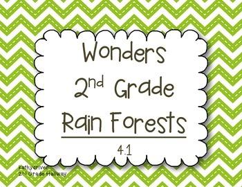 Wonders Grade 2  Rain Forests 4.1 {7 Literacy Activities}