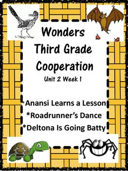 Wonders:  Grade 3 Unit 2.1:  Cooperation