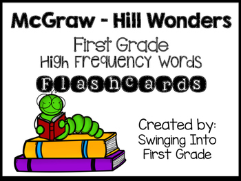 Wonders High Frequency Word Flashcards - Grade 1