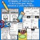 Kindergarten Wonders INTERACTIVE NOTEBOOKS {Units 5-6}