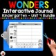 Wonders Kindergarten Interactive Journal Unit 4 BUNDLE