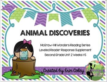 Wonders Leveled Reader Response Unit 2: Animal Discoveries