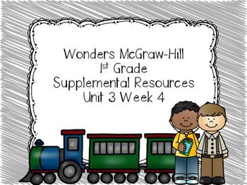 Wonders McGraw-Hill 1st Grade Supplemental Focus Wall Unit