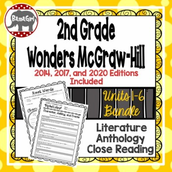 Wonders McGraw Hill 2nd Grade Close Reading Literature Ant