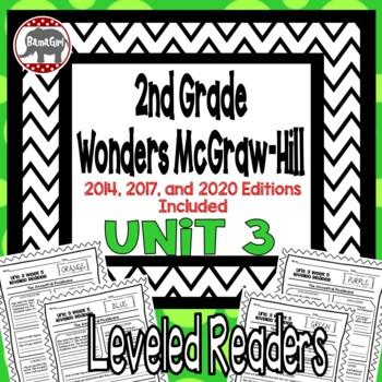 Wonders McGraw Hill 2nd Grade Leveled Readers Thinkmark - Unit 3