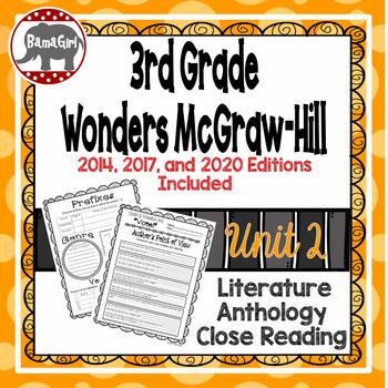 Wonders McGraw Hill 3rd Grade Close Reading (Literature An