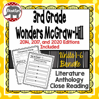 Wonders McGraw Hill 3rd Grade Close Reading Literature Ant