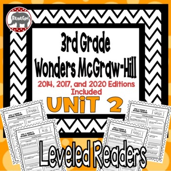 Wonders McGraw Hill 3rd Grade Leveled Readers Thinkmark - Unit 2