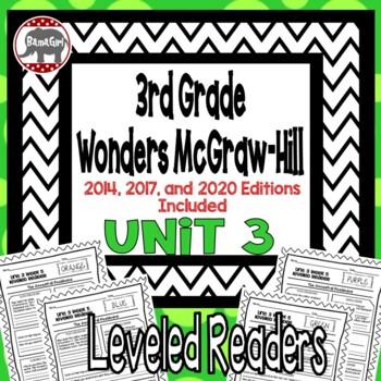 Wonders McGraw Hill 3rd Grade Leveled Readers Thinkmark - Unit 3
