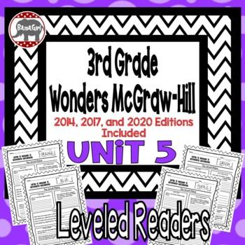 Wonders McGraw Hill 3rd Grade Leveled Readers Thinkmark - Unit 5