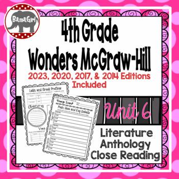 Wonders McGraw Hill 4th Grade Close Reading (Literature An