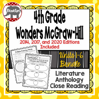 Wonders McGraw Hill 4th Grade Close Reading Literature Ant