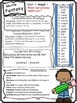 Wonders Reading Grade 3 Unit 1 Differentiated Newsletter /