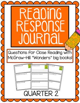 "Reading Response Journals - McGraw Hill ""Wonders"" Quarter 2"