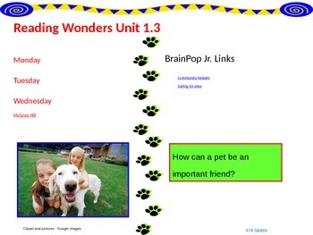 Wonders Reading Second Grade Power Point Unit 1.3