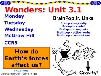Wonders Reading Second Grade Power Point Unit 3.1