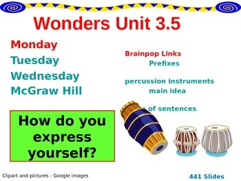 Wonders Reading Second Grade Power Point Unit 3.5