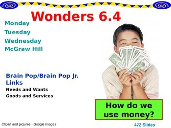 Wonders Reading Second Grade Power Point Unit 6.4