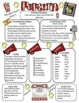 Wonders Reading Series 4th Grade: Unit 3, approaching/beyo