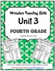 Wonders Reading Units 1-6 Skill, Vocab, and Spelling List