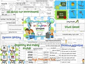 Wonders Reading for Kindergarten: Unit 10 Week 3 Extension