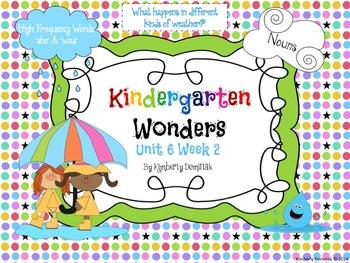 Wonders Reading for Kindergarten: Unit 6 Week 2 Extension
