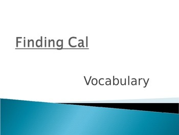 Wonders Second Grade Vocabulary Powerpoint Unit 1 Week 3 F