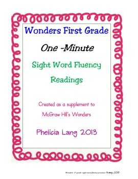 Wonders Sight Word Fluency Unit 4