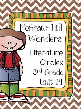Wonders Thinkmark Literature Circles Unit 1 Week 4~3rd Grade