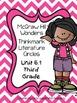 Wonders Thinkmark Literature Circles Unit~ 6  Bundle Week 1-5