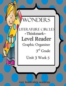 Wonders Thinkmark Literature Circles~Unit 3 Week 5