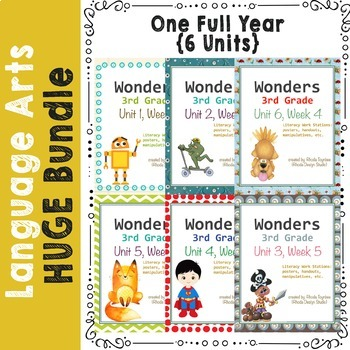 Reading Literacy Spelling & Phonics Centers: FULL YEAR: 6 Units