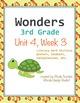 Reading Literacy Centers Unit 4 Bundle