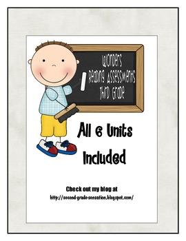 Wonders Third Grade Weekly Reading Assessments