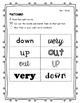 Wonders Unit 1 Week 1 Complete Sight Word Weekly Activitie