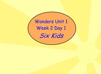 Wonders- Unit 1 Week 2- Flip chart- Slides