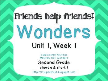 Wonders: Unit 1 Week 1 (short a & short i)