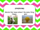Wonders Unit 1 week 1 Essential questions 3rd grade