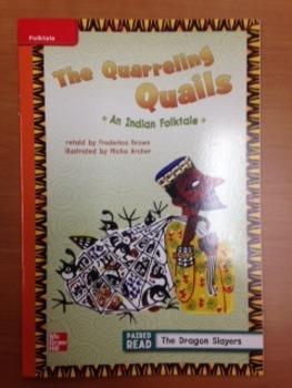 3rd Grade Wonders Unit 2 Week 1 Approaching Level The Quar