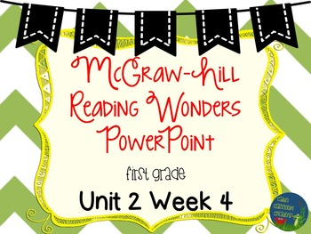 Wonders Unit 2 Week 4 PowerPoints