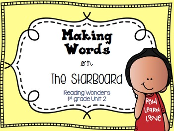 Making Words for Reading Wonders on the StarBoard 1st grad