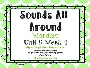Wonders Unit 5 Week 4: Diphthongs (ou, ow)