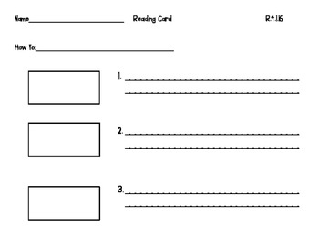 Wonders Unit 4 week 1 Workstation Cards grade 2